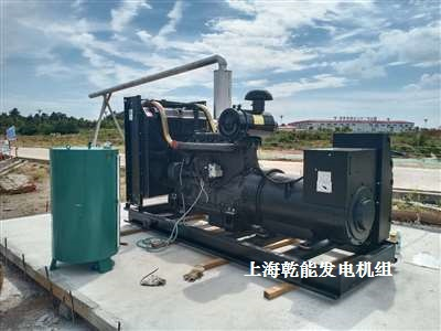 乾能柴油发电机 安装
